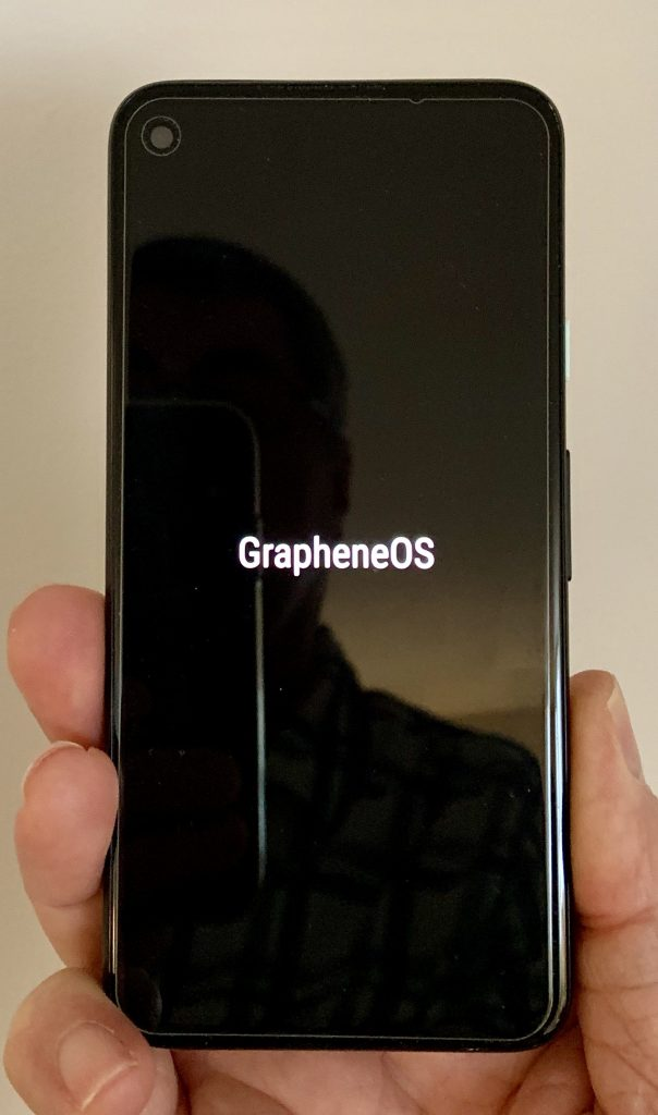 Pixel 4a with Graphene